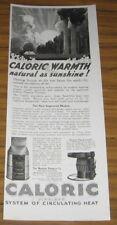 1924 AD CALORIC MONITOR PIPE FURNACES CINCINNATI,OH
