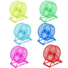 De Forme Ronde Plastique Chouchou Hamster Souris Évider Rouleau Roue Exercice