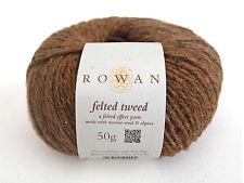 (17,90€/100g) Rowan Felted Tweed Tweedgarn Wolle stricken Merino Alpaka