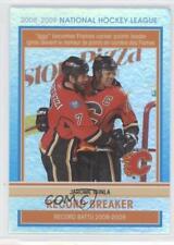 2009-10 O-Pee-Chee Record Breaker #RB5 Jarome Iginla Calgary Flames Hockey Card