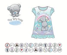 Official Tatty Teddy Nightie Shirt Dress Nightwear Nightdress Pyjamas 2-6 Years