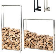 Porte bûches FOREST support de rangement bois de chauffage stable style moderne