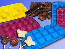 silicona bombones chocolate Cubos de hielo forma DADO media esfera