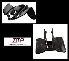 NEW SUZUKI LTZ400 Z400 KFX400 BLACK PLASTIC FRONT AND REAR FENDER SET PLASTICS