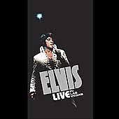 NEW & SEALED! Elvis Presley - Live in Las Vegas [4 CD Box Set, 2001]