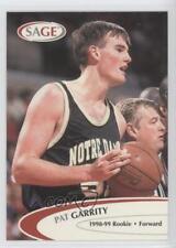 1998-99 SAGE Proof Set #15 Pat Garrity Notre Dame Fighting Irish Basketball Card