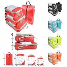 Compression Packing Cube Travel Luggage Organizer foldable Kids Nylon Women New
