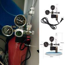 Aquarium Fish Tank 2 Gauge CO2 Pressure Regulator Bubble Counter Solenoid Valv