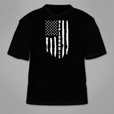 Deplorable T-Shirt. I'm Pro Trump Support American Flag Republican Make Great