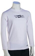 Billabong Boy's Amphibious LS Surf Shirt - White - New