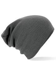 beechfield slouch beanie doppellagiger soft rib mütze exzellentes preis und qualität!!!