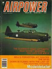 Airpower Magazine V12 N1, Luftwaffe Nazi Jet  Weapons Bell XP-83 Fokker Dutch