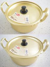 New!  Korean Noodle Ramen Ramyun Pot with Lid, Size(14, 16cm)