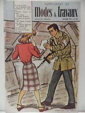 Supplément de MODES ET TRAVAUX numero 839 revue 1970 magazine roman Comme NEUF