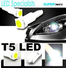 T5 White LED Side Wedge  Dashboard Centre Console Lights VP VR VS VT AU EF EL BA