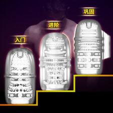 Transparent Male Pocket Pussy flesh Masturbators light Trainer for Man Toy 3Type