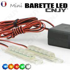MINI BARETTE LED CNJY 2PETIT FEUX D'AVERTISSEMENT DE PENETRATION FLASH MOTO AUTO