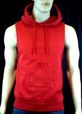 Men's Beer Bottle Pocket Pouch Red Vest Hoodie Sweatshirt gag Christmas gift