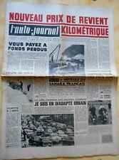 L'AUTO-JOURNAL n°190 de 15/01/1958 Super Paloma 60 cm3/ Peugeot BB 1