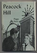 Peggy Dern PEACOCK HILL First edition Arcadia House! Scarce HC Novel N. Carolina
