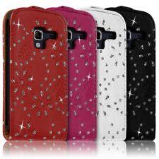 Housse Coque Etui pour Samsung Galaxy Ace 2 Style Diamant Couleur