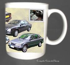FORD GRANADA SCORPIO CLASSIC CAR MUG.TOP DESIGN.XMAS