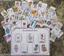 BESPOKE PARAURTI Pack PEC Flash Cards & A4 schede incluse! ~ 16 2 anni + autismo ~ sen