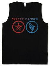 SELECT MANNER TANK TOP VEST Jack Commander Mass Good Effect Normandy Sheppard