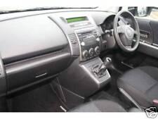 Se adapta a Mazda 5 Negro De Cuero Gear Shift Polaina Nuevo
