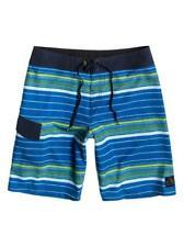 Nuevo Quiksilver Suit Up Pantalones de Playa Azul Hombre 4 Sentidos Elástico