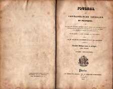 JOURNAL DES CONNAISSANCES USUELLES ET PRATIQUES-1830