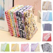 "10"" x 10"" Bundle Lot of 7 Fat Quarters No Duplicates 100% Cotton Quilting Fabric"