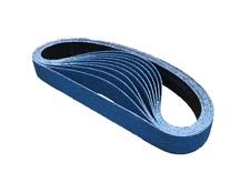 File Sanding Belts- Zirconia- 40,60,80,120 Grit- 10mm, 12mm, 13mm, 19mm & 20mm