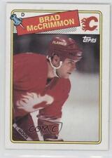 1988-89 Topps #178 Brad McCrimmon Calgary Flames Hockey Card