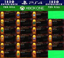 Diablo 3 PS4 - Xbox One - 22x PRIMAL Modded Legendary Gems - XP per Kill