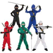 Ninja Warrior Costume for Kids Halloween Fancy Dress