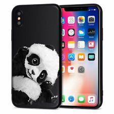 Panda Zebra Aero Space Phone Case for iPhone 11 Pro X XR XS Max 7 8 6 6s Plus