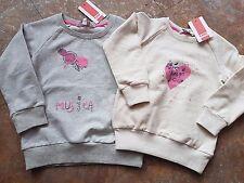 1716807 Kanz Mädchen Sweat Shirt Sweatshirt langarm Neu 80 86 92 98 104 110 128