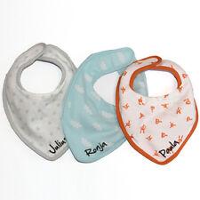 Baby Lätzchen Babylatz Halstuch Geburt Latz mit Wunschname verschiedene Motive