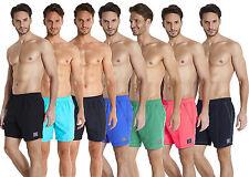 Speedo Men's Waters Shorts Check Trim Leisure 16 Inch
