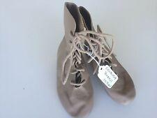 Tan Dance Jazz Boots Child's  Size 10.5W
