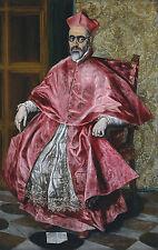 """El Greco : """"Cardinal Fernando Nino de Guevara"""" (c.1600) — Giclee Fine Art Print"""