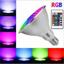 Dimmable Waterproof RGB LED PAR30 PAR38 Light E27 15W 25W Lamp 220V High Quality
