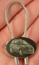 Nissan Micra Schlüsselanhänger Gravur Keyring
