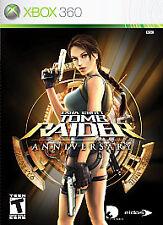 Xbox 360 Tomb Raider Anniversary VideoGames