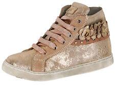 Clic! hohe Sneakers 8924 Mädchen Leder Kinder Schuhe Gold Gr.26-32 Neu