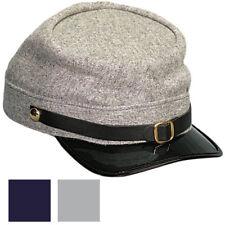 American Civil War Kepi Hat, Union Blue / Confederate Grey, US Military Army Cap
