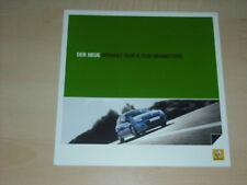 33445) Renault Clio + Grandtour Prospekt 2009