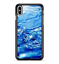 ICY Blu SPRUZZI ACQUA e cristallo Ocean H2O Cool 2D TELEPHONO CASE COVER