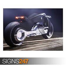 BMW MOTORRAD VISION NEXT (1734) Photo Picture Poster Print Art A0 A1 A2 A3 A4